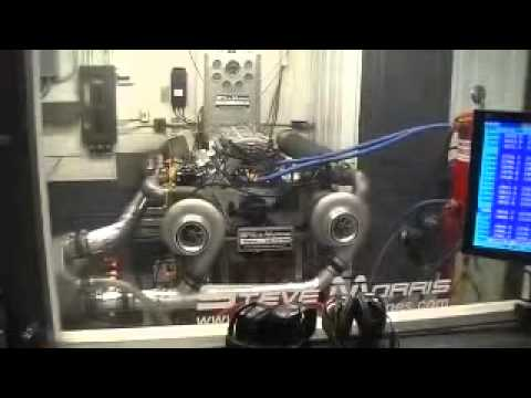 dyno - 3000 Plus HP Twin Turbo Dyno Video From Steve Morris Engines Built for Steve Ayesh.