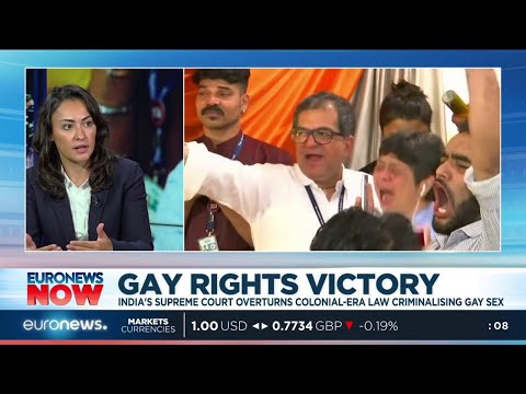 Video Gay Rights Victory: India's supreme court overturns colonial-era law download in MP3, 3GP, MP4, WEBM, AVI, FLV January 2017
