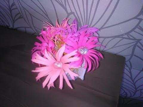 Как сделать цветы колокольчики из бумаги своими