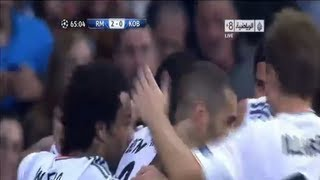 Real Madrid Vs FC Copenhagen 4-0 - Goals&Highlights Champions League HD 2013 2.10.2013