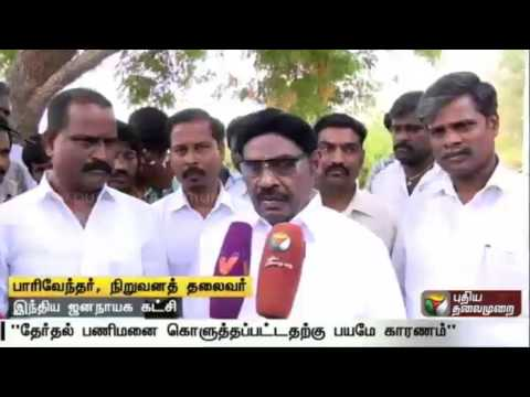 IJK-founder-leader-Parivendhars-campaign-in-more-than-10-villages-in-Perambalur-district
