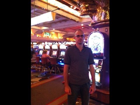 Kentucky Boy's First Slot Machine: MGM Grand Casino, Las Vegas