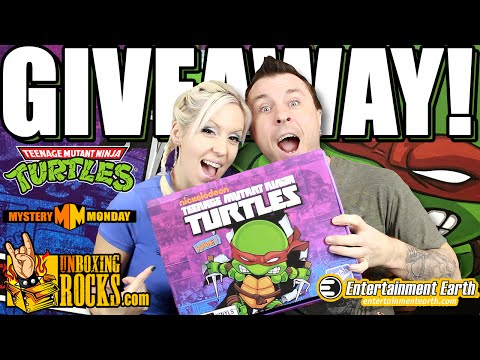 GIVEAWAY: Full Case of TEENAGE MUTANT NINJA TURTLES Action Vinyl Figures (The Loyal Subjects)