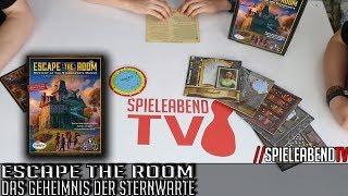 SpieleabendTV stellt euch Escape the Room - Das Geheimnis der Sternwarte vor.Gewinnspiel:Zu Gewinnen gibt es dieses Spiel!Gewinnspiel geht bis zum 1. Juli 2017.Schreib uns warum grad Du das Spiel bekommen sollst (kreativ und lustig ist ein Bonus).Mail an exit@spieleabendtv.de► Amazon: http://amzn.to/2rC4dPuFacebook: www.facebook.com/spieleabendtv----------------------------------------------------Wenn euch unsere Videos gefallen, dann freuen wir uns auf ein weiteres Abo. =) Wenn nicht, dann könnt Ihr uns den Grund gerne mitteilen.www.spieleabendtv.de