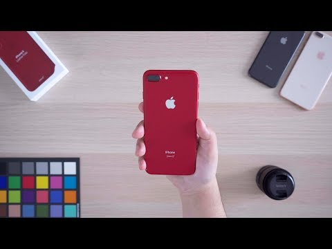 Unboxing the Product (RED) iPhone 8 Plus