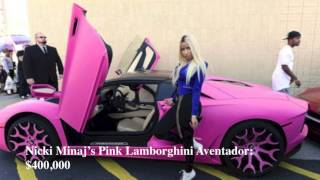 Top 10 Female Celebrities and their SuperCars [HD]