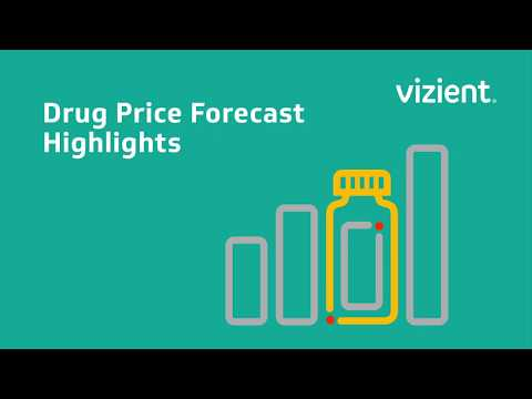 The Vizient Drug Price Forecast offers Hospitals Pharmaceutical Pricing and Drug Trends