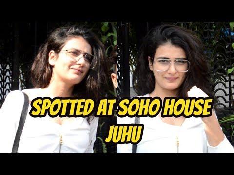 Fatima Sana Shaikh Spotted At Soho House Juhu