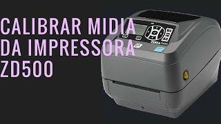 Calibrar midia ZD500