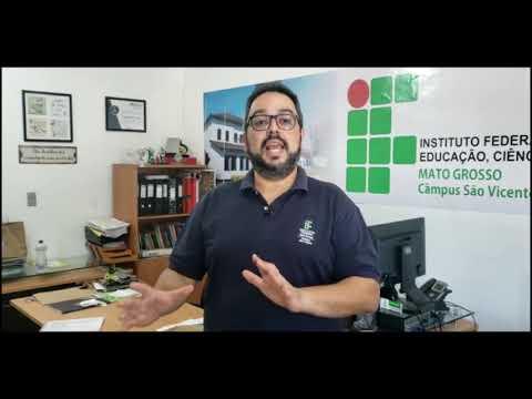 video - IFMT São Vicente retoma calendário acadêmico com atividades não presenciais