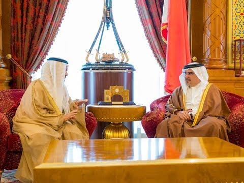 سمو ولي العهد يستقبل السفير الإماراتي بمناسبة انتهاء فترة عمله