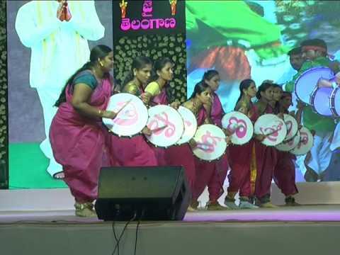 Dappu Dance Performance at Telangana Formation Day