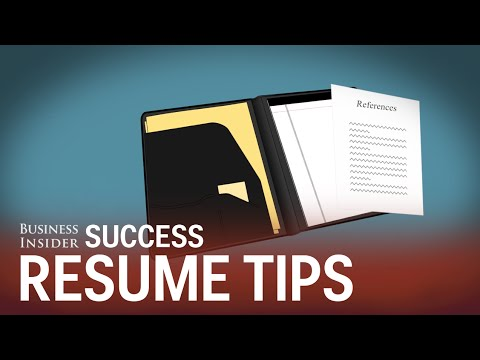 5 things you should never put on your résumé
