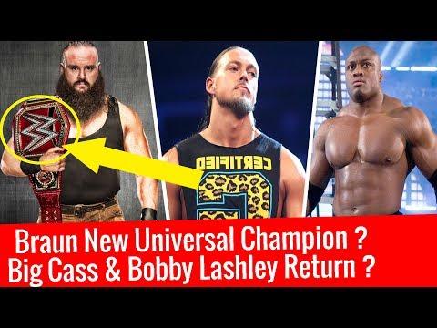 Braun Strowman New Universal Champion ? Bobby Lashley Return In WWE | Big Cass Elimination Chamber