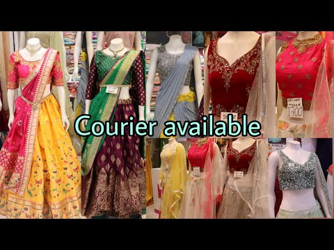Best Botique style langa voni's&Crop tops @affordable prices|Lovely lady|Dilshuk nagar shopin|bsmart