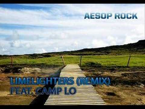 Tekst piosenki Aesop Rock - Limelighters (Feat. Camp Lo) po polsku