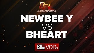 Newbee.Y vs BHEART, DPL Season 2, game 1