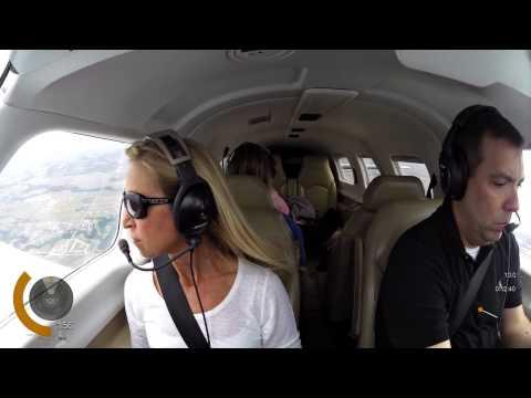 Meridian Flight from KPWA to Gulf Shores