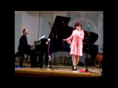 """Duo Alterno at the Moscow Conservatory: """"Lachrimae"""" (2nd part) by Sylvano Bussotti"""