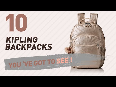 Top Backpacks By Kipling // New & Popular 2017