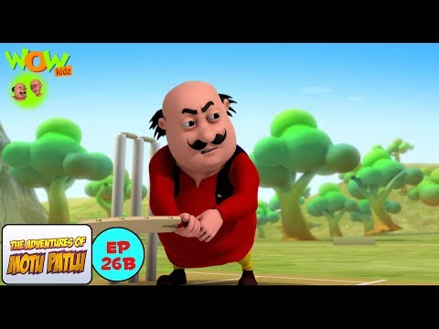 Cricket League - Motu Patlu in Hindi WITH ENGLISH, SPANISH & FRENCH SUBTITLES