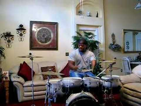 Kanye West- flashy lights (drum cover)
