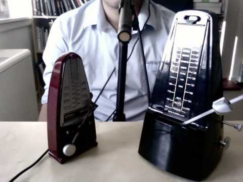 100 Strange Sounds No.3 – Two Metronomes
