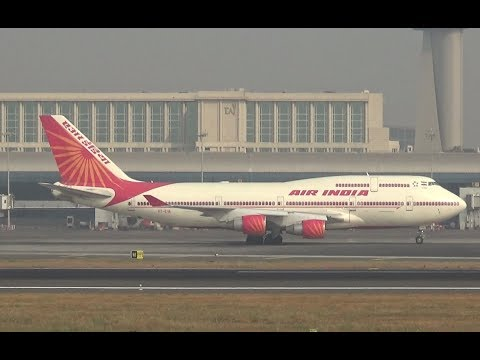 Video Air India Queen, Boeing 747 after landing... download in MP3, 3GP, MP4, WEBM, AVI, FLV January 2017