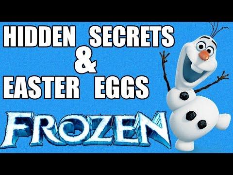 10 Hidden Secrets & Easter Eggs in Disney's FROZEN