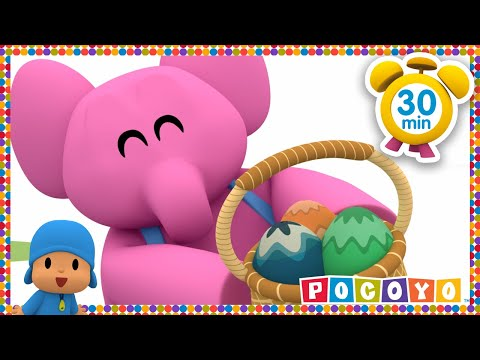 Pocoyo português Brasil - Pocoyo Easter Egg Hunt Patrol  NEW EASTER EPISODE HD