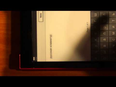 Sony T1 eReader Hacked to Expose Android OS