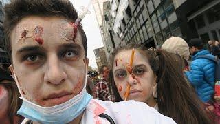 Video La marche des zombies - Montréal Zombie Walk 2015 MP3, 3GP, MP4, WEBM, AVI, FLV Oktober 2017