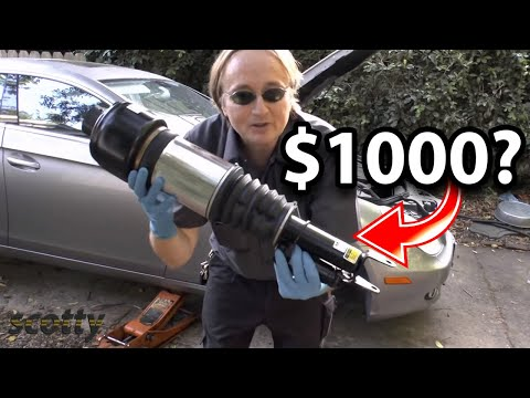 Replacing A Thousand Dollar Shock Absorber