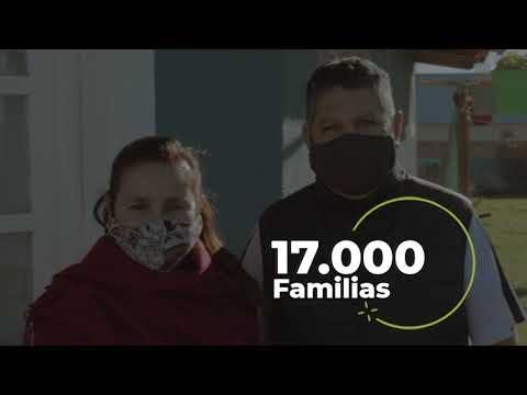 Gas natural para más de 17.000 familias rionegrinas