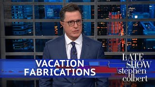 Trump Isn't Taking A Vacation From Lying