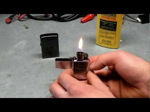 how to fill lighter