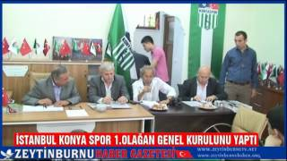 İstanbul Konya Spor 1 Olağan Kongresini yaptı