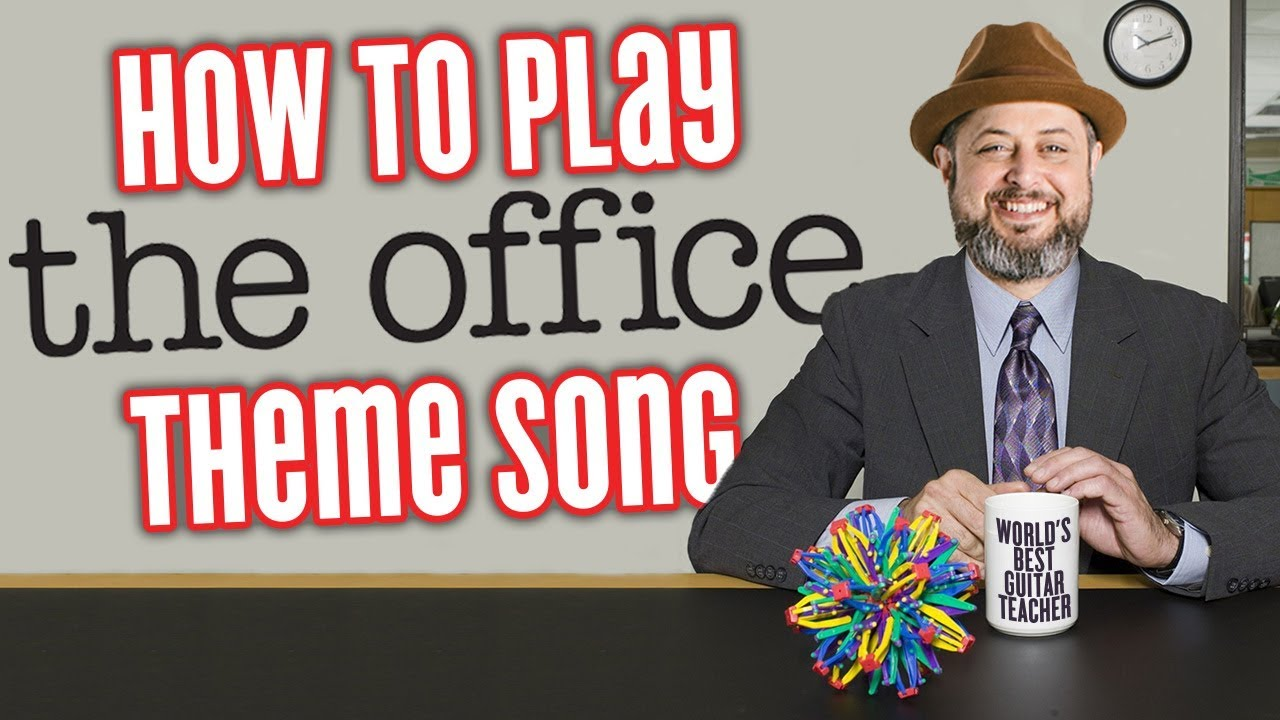 The Office Theme Song – Guitar Lesson