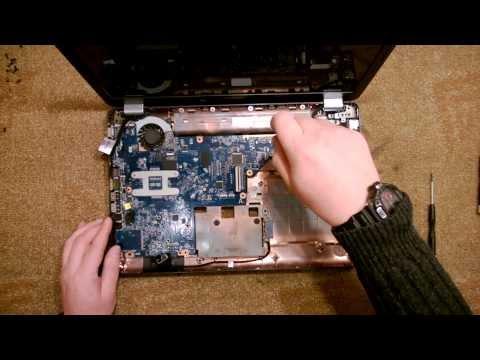 comment ouvrir un compaq presario cq56