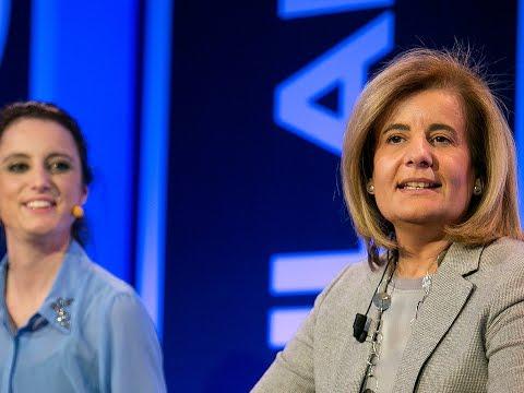 Fátima Báñez: La garantía del modelo de bienestar es el empleo