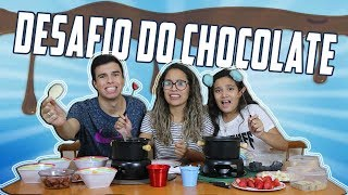 DESAFIO DO CHOCOLATE! Ft. Juliana Baltar - KIDS FUN