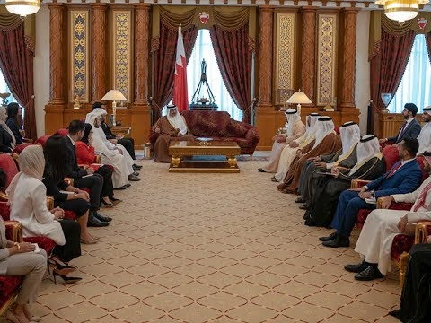HRH the Crown Prince meets fifth intake of the FDPM Fellowship