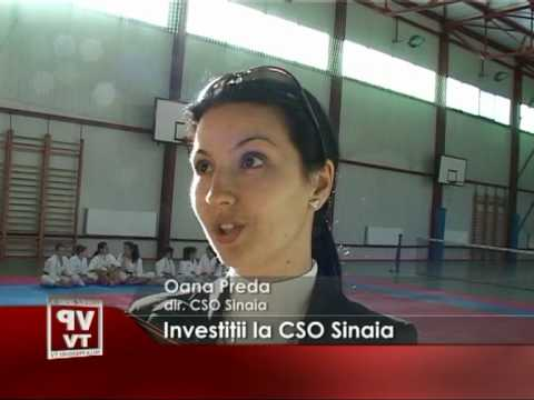 Investiţii la CSO Sinaia