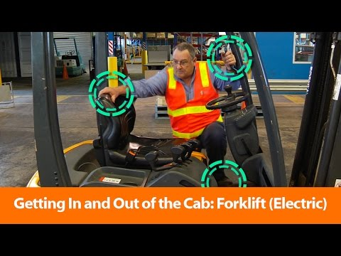Three Points of Contact: Forklift (Electric) - Safety Training Video