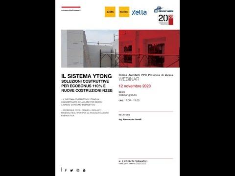 Il sistema Ytong: soluzioni costruttive per ecobonus 110% e nuove costruzioni NZEB