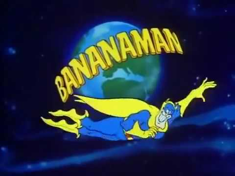 Bananaman &#8211; intro (classic BBC cartoon series)