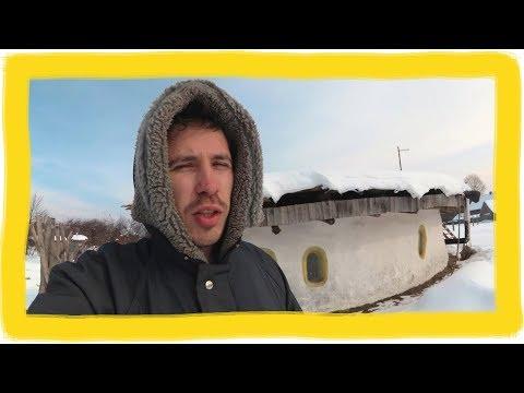 Зимовка в саманном доме ЧАСТЬ ДВА (видео)