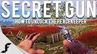 Secret Gun in Battlefield 1! How to unlock the Peacekeeper
