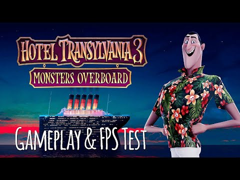 HOTEL TRANSYLVANIA 3 MONSTERS OVERBOARD GAMEPLAY TEST