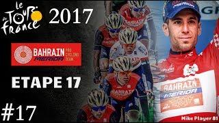 Tour de France 2017 avec la Team Bahrain-Merida Résumé de l'étape du 19-07-2017 Etape 17 : La Mure - Serre Chevalier (184...